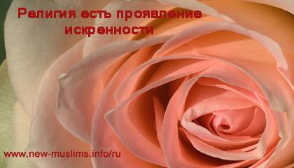 Хадис 7. Религия есть проявление искренности