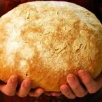 Раздача хлеба