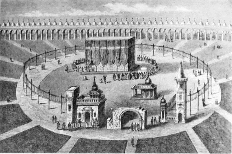 Строительство Каабы и решение проблемы